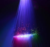 Internet technology fiber optic background — Stock Photo