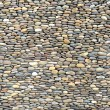 background made of a closeup of a wall with pebbles — Stock Photo