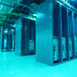 Communication and internet network server room — Stock Photo #22437943