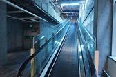 Trappa i en flygplats — Stockfoto