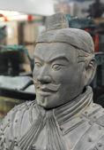 Terakotowa armia postać w chinach — Zdjęcie stockowe