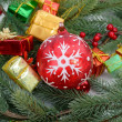 Christmas baubles Decorations — Stock Photo #34580819