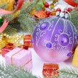 Christmas baubles Decorations — Stock Photo #37260079