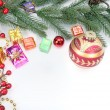 Christmas baubles Decorations — Stock Photo #37261595