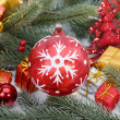 Christmas baubles Decorations — Stock Photo #37261639