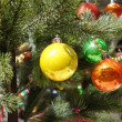 Christmas baubles Decorations — Stock Photo #37261949