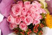 Букет свадебных цветов — Стоковое фото