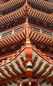 Part of Chinese style roof — Stock Photo