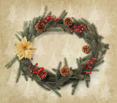 świąteczne dekoracje na boże narodzenie tło — Zdjęcie stockowe
