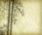Eski grunge kağıt doku arka plan bambu — Stok fotoğraf