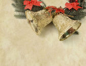 Christmas decoration on Vintage christmas background — Foto Stock