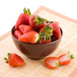 Royalty-Free Stock Photo: Strawberries in a bowl