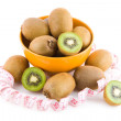 Kiwi in a bowl — Stock Photo