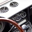 Retro car interior — Stock Photo #26548127