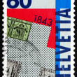 Postage stamp Switzerland 1993 Postage Stamp Zurich Types A1 and — Stockfoto