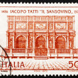 Postage stamp Italy 1970 Loggia of St, Mark — Stock Photo
