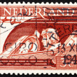 Postage stamp Netherlands 1944 Pilot — Stock Photo
