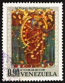 Francobollo venezuela 1970 vergine di chiquinquirá — Foto Stock