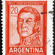 Postage stamp Argentin1967 Jose de SMartin, General — Stock Photo #12111254