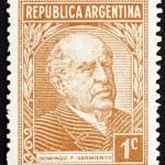 Постер, плакат: Postage stamp Argentina 1935 Domingo Faustino Sarmiento