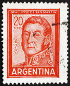 Postage stamp Argentina 1967 Jose de San Martin, General — Stock Photo