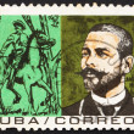 Постер, плакат: Postage stamp Cuba 1964 Antonio Maceo Revolutionary