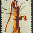Postage stamp Australia 1972 Water Pump, Pioneer Life — Stock Photo