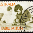Postage stamp Australia 1972 Rehabilitation of the Handicapped — Stock Photo
