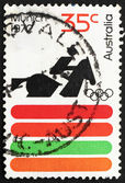 Postage stamp Australia 1972 Equestrian, 20th Olympic Games, Mun — Stock Photo