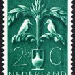 Postage stamp Netherlands 1943 Tree of Life — Stock Photo #12230420