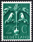 Postage stamp Netherlands 1943 Tree of Life — Stock Photo