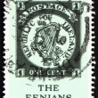 Postage stamp Ireland 1967 One Cent Fenian Fantasy - Stock Photo