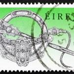 Постер, плакат: Postage stamp Ireland 1990 Tara Brooch