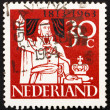Postage stamp Netherlands 1963 Prince William of Orange - Stock Photo