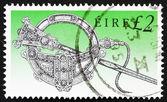 Postzegel Ierland 1990 tara broche — Stockfoto