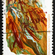Postage stamp Australia 1971 Cave Painting, Western Arnhem Land - Stock Photo