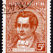 Stock Photo: Postage stamp Argentin1935 Mariano Moreno, Politician