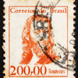 Stock Photo: Postage stamp Brazil 1965 Tiradentes, Revolutionary