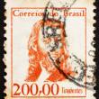 Postage stamp Brazil 1965 Tiradentes, Revolutionary — Stock Photo
