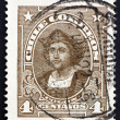 Postage stamp Chile 1918 Christopher Columbus, Explorer — Stock Photo