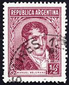 Selo postal argentina 1935 manuel belgrano — Foto Stock