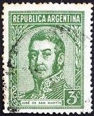 Postage stamp Argentina 1935 Jose de San Martin, General — Stock Photo