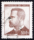 Postage stamp Chile 1966 German Riesco, President of Chile — Stock Photo