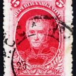 Постер, плакат: Postage stamp Argentina 1910 Cornelio Saavedra
