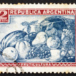Stockfoto: Postage stamp Argentin1936 Fruit, Food