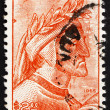 Постер, плакат: Postage stamp Mexico 1965 Dante by Raphael Fresco