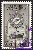 Postage stamp Venezuela 1949 M. S. Republica de Venezuela — Stock Photo
