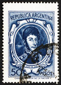 Postage stamp Argentina 1955 Jose de San Martin, General — Stock Photo