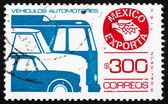 Postage stamp Mexico 1988 Motor Vehicle, Mexican Export — Stock Photo