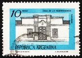 Postage stamp Argentina 1978 Independence Hall, Tucuman — Stock Photo